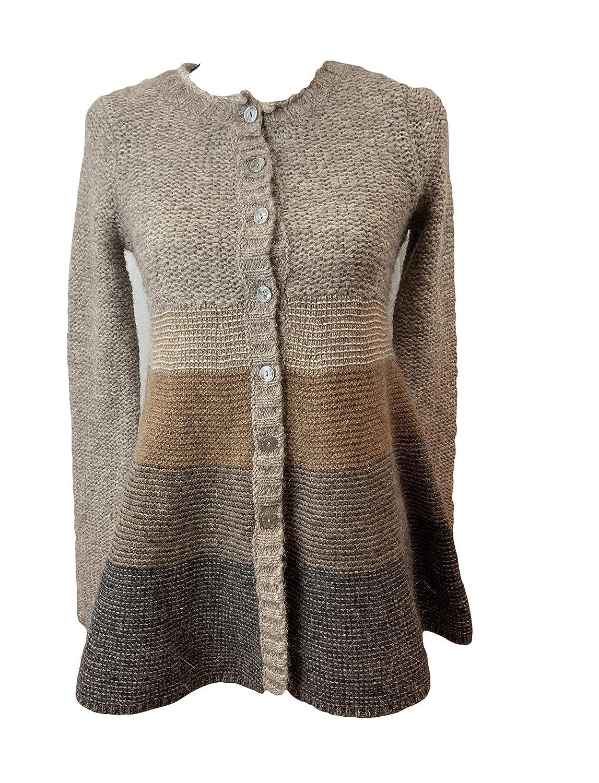 Free People Nordic Fairisle Long Cardigan Sweater Size S P