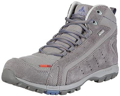 Vaude Coiba Ceplex Mid 20272, Chaussures Marche nordique femmeGris-TR-J1-1, 39.5 EU