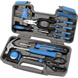 Apollo Tools DT9706 BL General Tool Set, Blue, 39 Piece