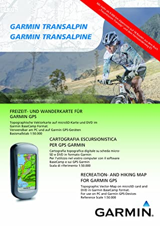 Garmin TransAlpine Maps Of Germany Austria Northeast Italian Alps - Germany map for garmin