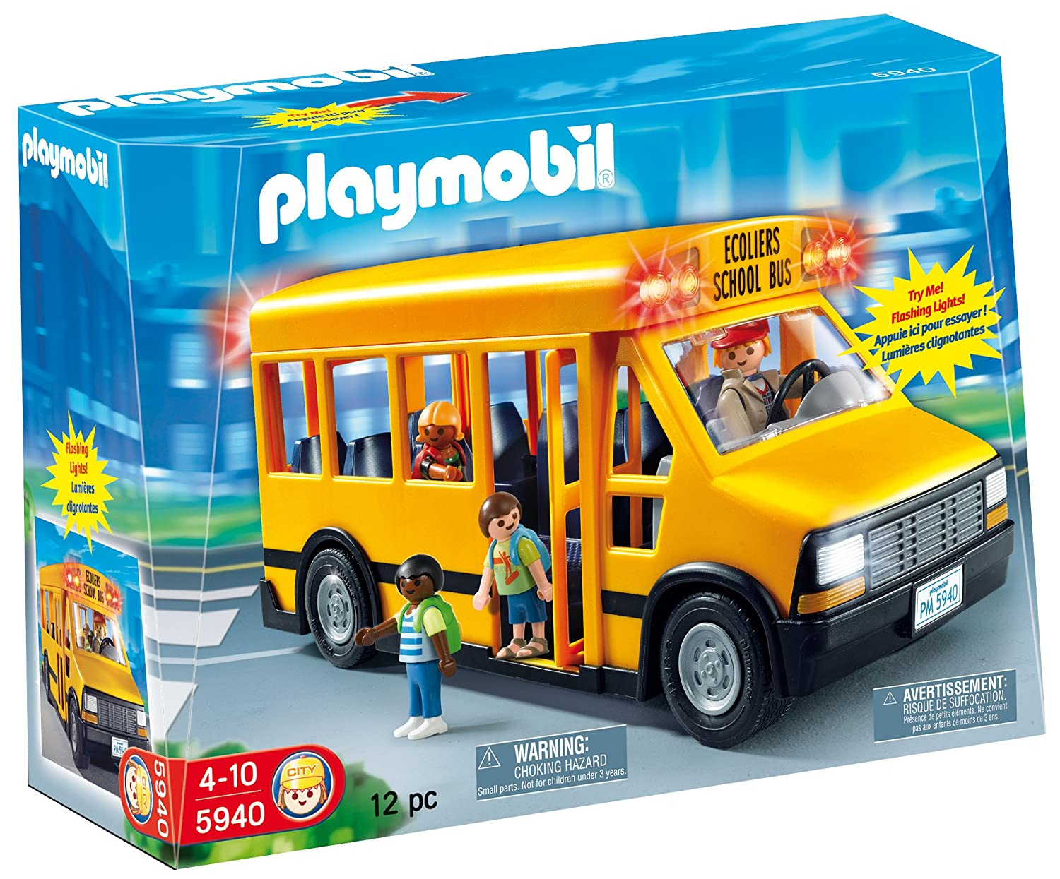 Amazoncom Playmobil School Bus Toys Games