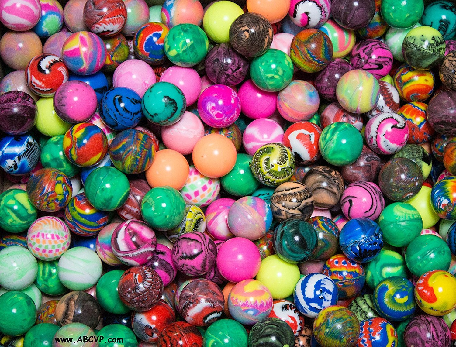 PREMIUM Bouncy Balls 27 MM (1000 count) by BOUNCY BALLS VENDING SUPPLY (Image #5)