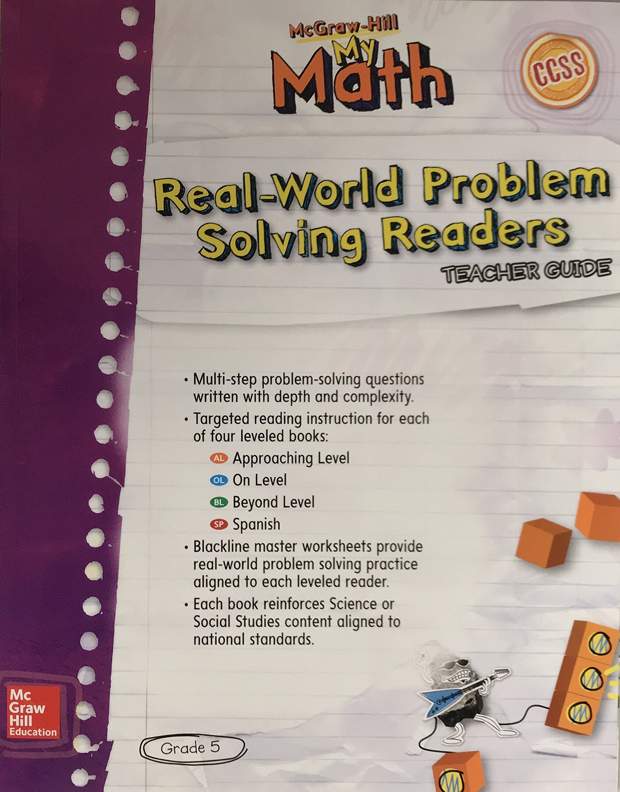 Real-World Problem Solving Readers Teachers Guide (My Math