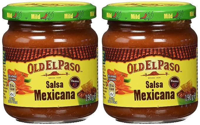 Old El Paso - Salsa de tomate mexicana - 190 g - [Pack de 2]: Amazon.es: Alimentación y bebidas