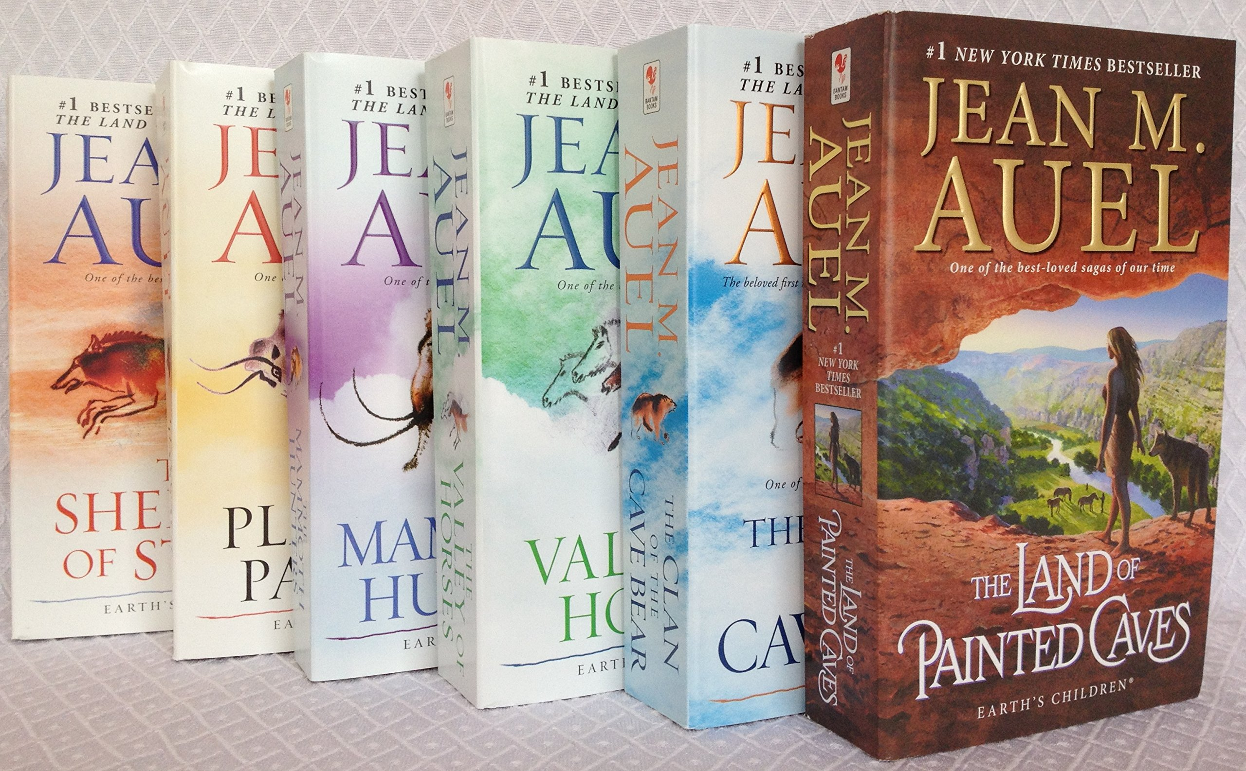 The Complete Jean M Auel Earth S Children Series Six Book Set Clan