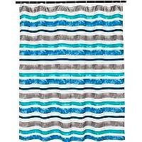 AmazonBasics, Cortina de ducha,Acuarela, 182x182cm