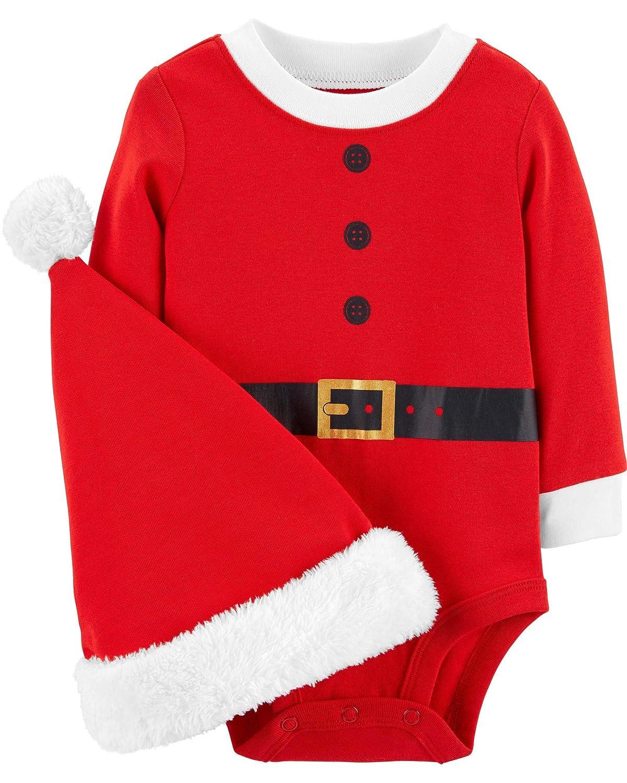 優先配送 Carter's SHIRT Carter's ユニセックスベビー B07HBB4WY2 Red Santa 18 Months B07HBB4WY2 18 Red Months|Red Santa, アウトドアショップ High-SKY:c7489e50 --- arianechie.dominiotemporario.com