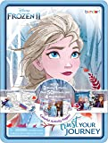Disney Frozen 2 Activity Tin with Coloring Books and Poster AS45562, Multicolor