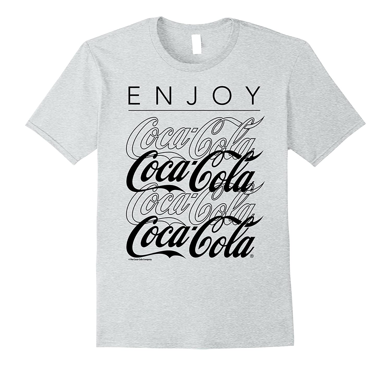 Coca-Cola Enjoy and Repeat Logo Graphic T-Shirt-FL