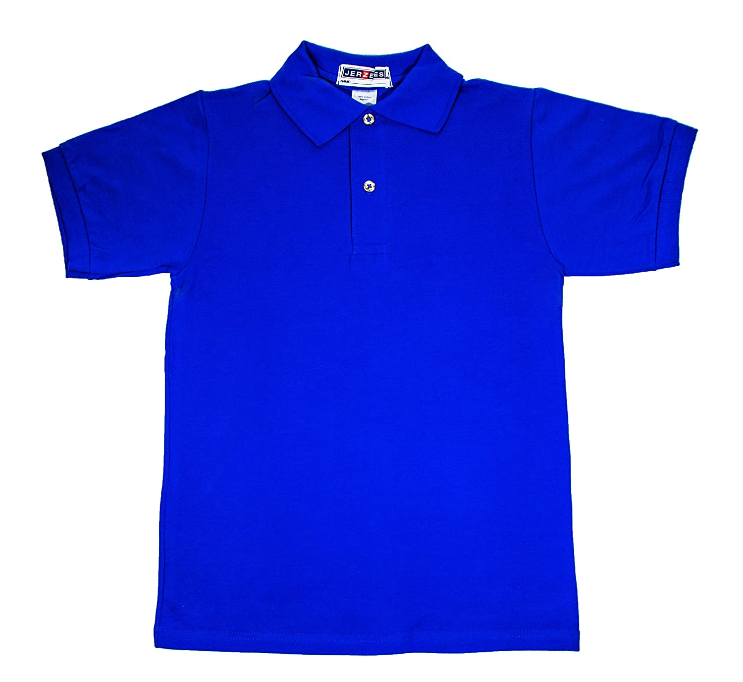 Boys Polo Shirt Perfect Fit Kids Children Clothe 100% Cotton Short