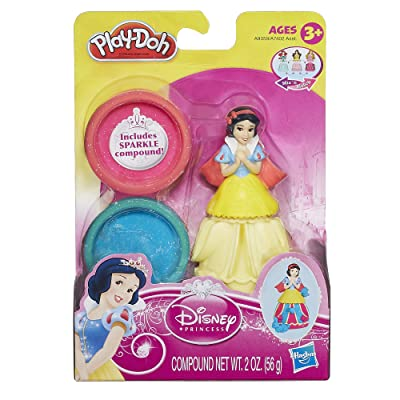 Play-Doh Mix n Match Figure Featuring Disney Princess Snow White: Toys & Games