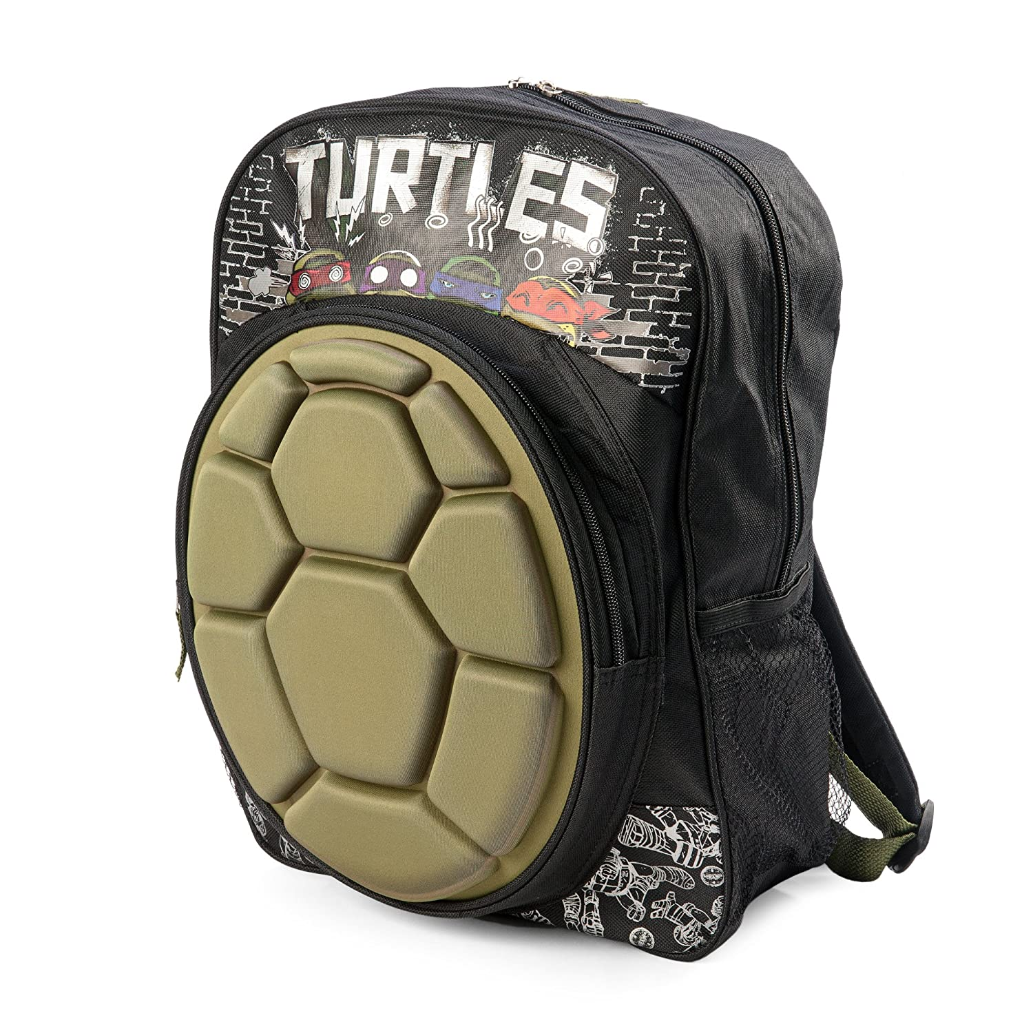 2015 New Ninja Turtles Shell 16 Inches Backpack(2688)