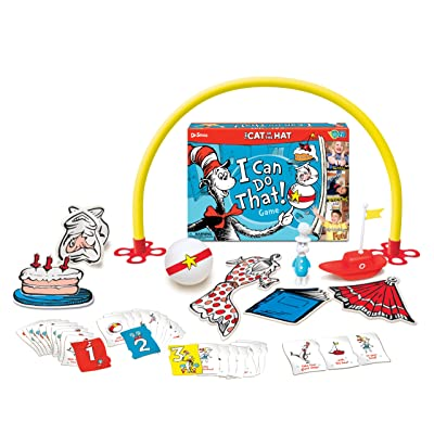 Wonder Forge Cat in The Hat I Can Do That! Game (1002): Toys & Games
