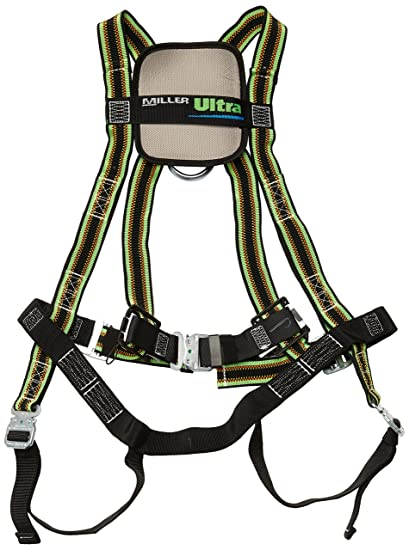 Miller DuraFlex Ultra Stretchable Full Safety Harness with ...