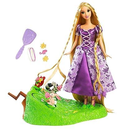 Amazon Com Disney Tangled Featuring Rapunzel Braiding Friends Hair