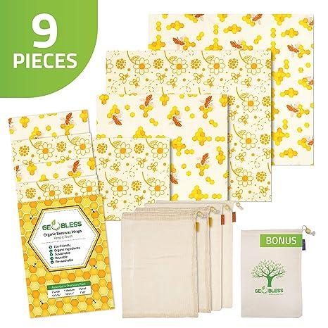 Amazon.com: Geobless - Vendas de cera de abeja y bolsas ...