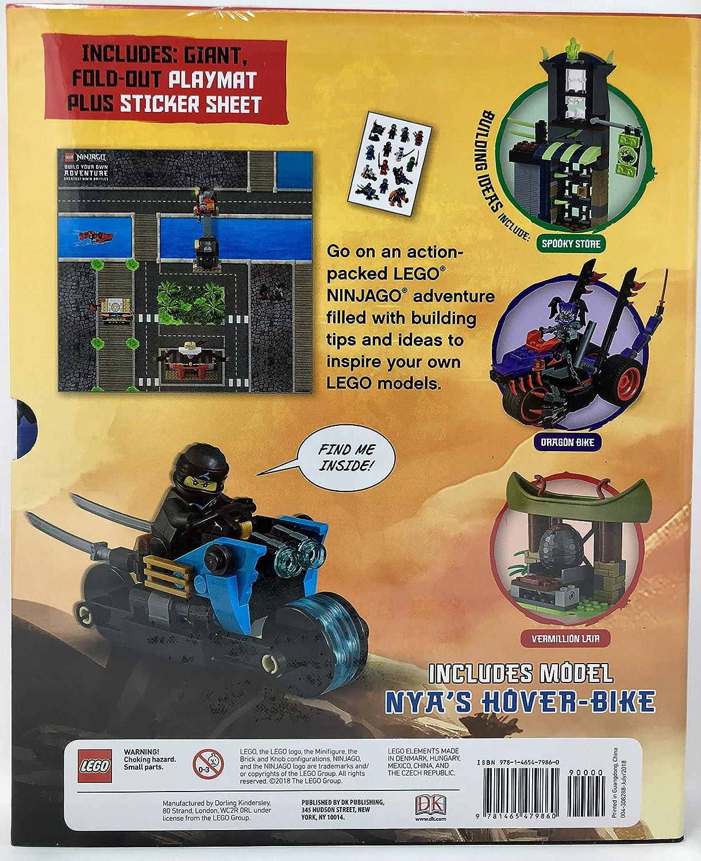LEGO Build Your Own Adventure Box Set - (Insert Style) Ninjago