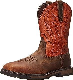 Amazon.com | Ariat Men's Sierra Wide Square Steel Toe Work Boot ...