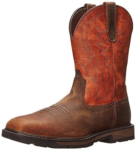 e194014ee98a6 Ariat Men's Groundbreaker Wide Square Steel Toe Work Boot