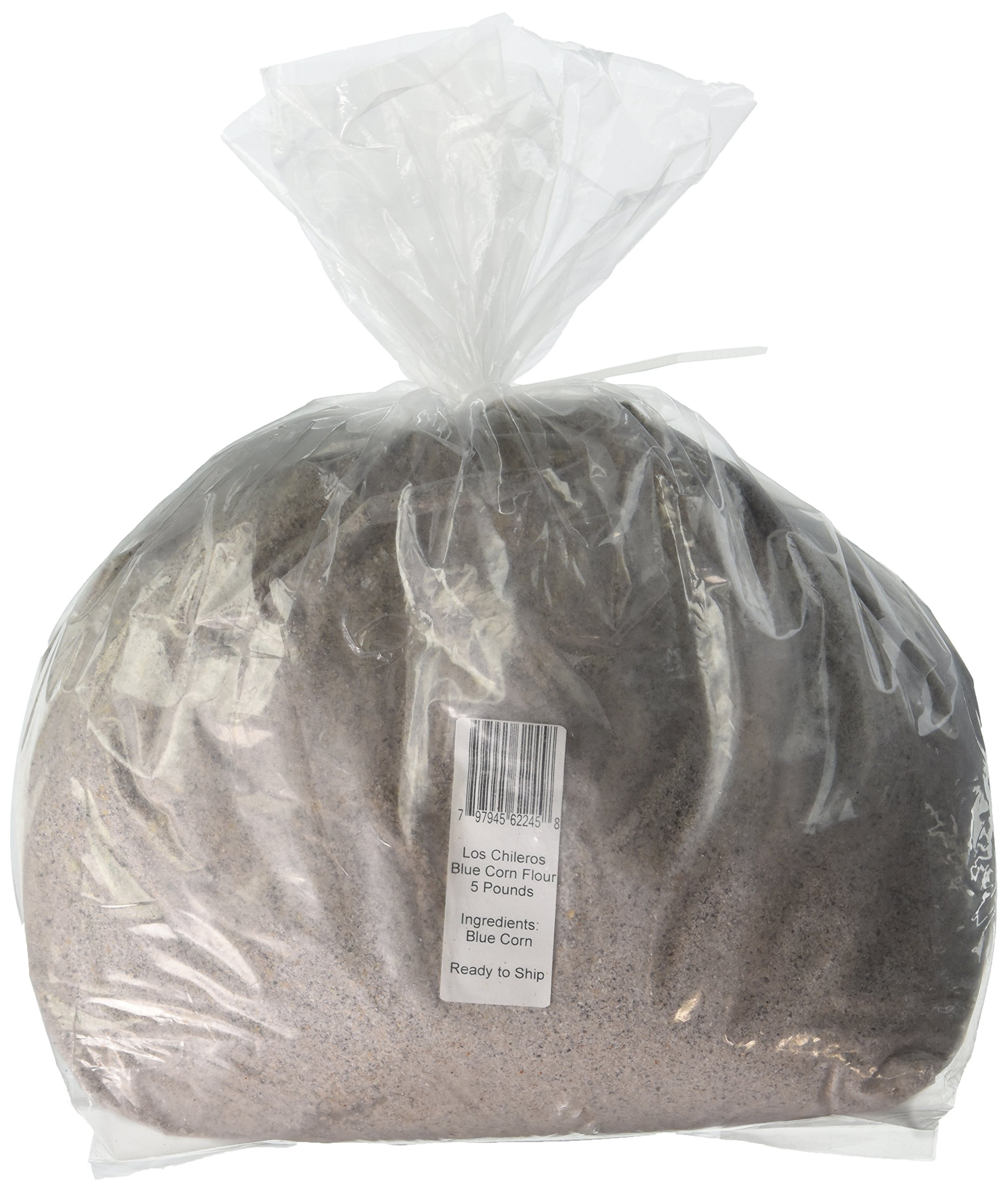Los Chileros Blue Corn Flour, 5 Pound