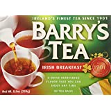 Barry's Irish Breakfast Tea - 1 Pack of 80 Teabags (Pack of 2)