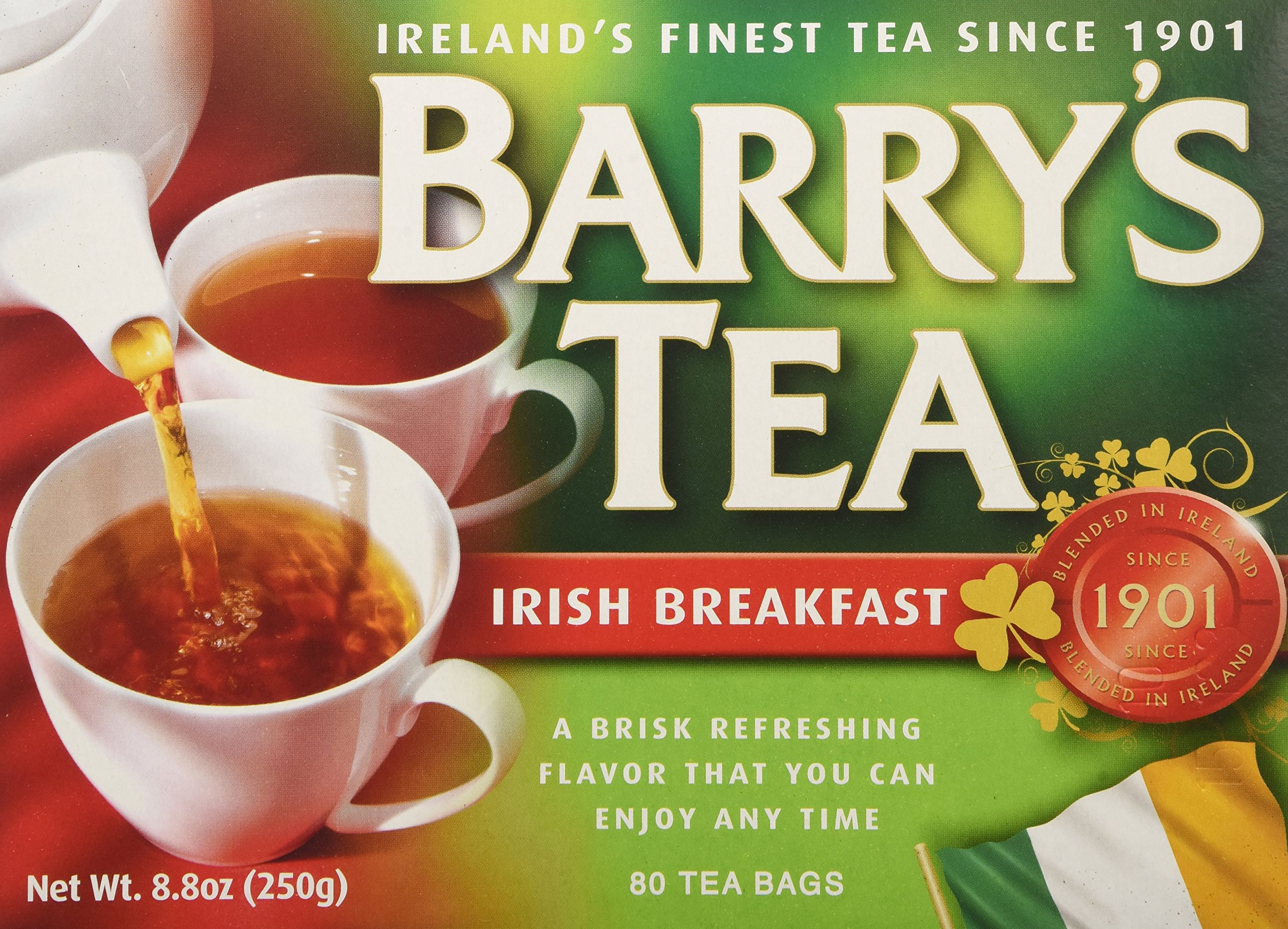 Barry's Tea Irish Breakfast Teabags (80) - Pack of 2 by Barry's Tea (Image #1)
