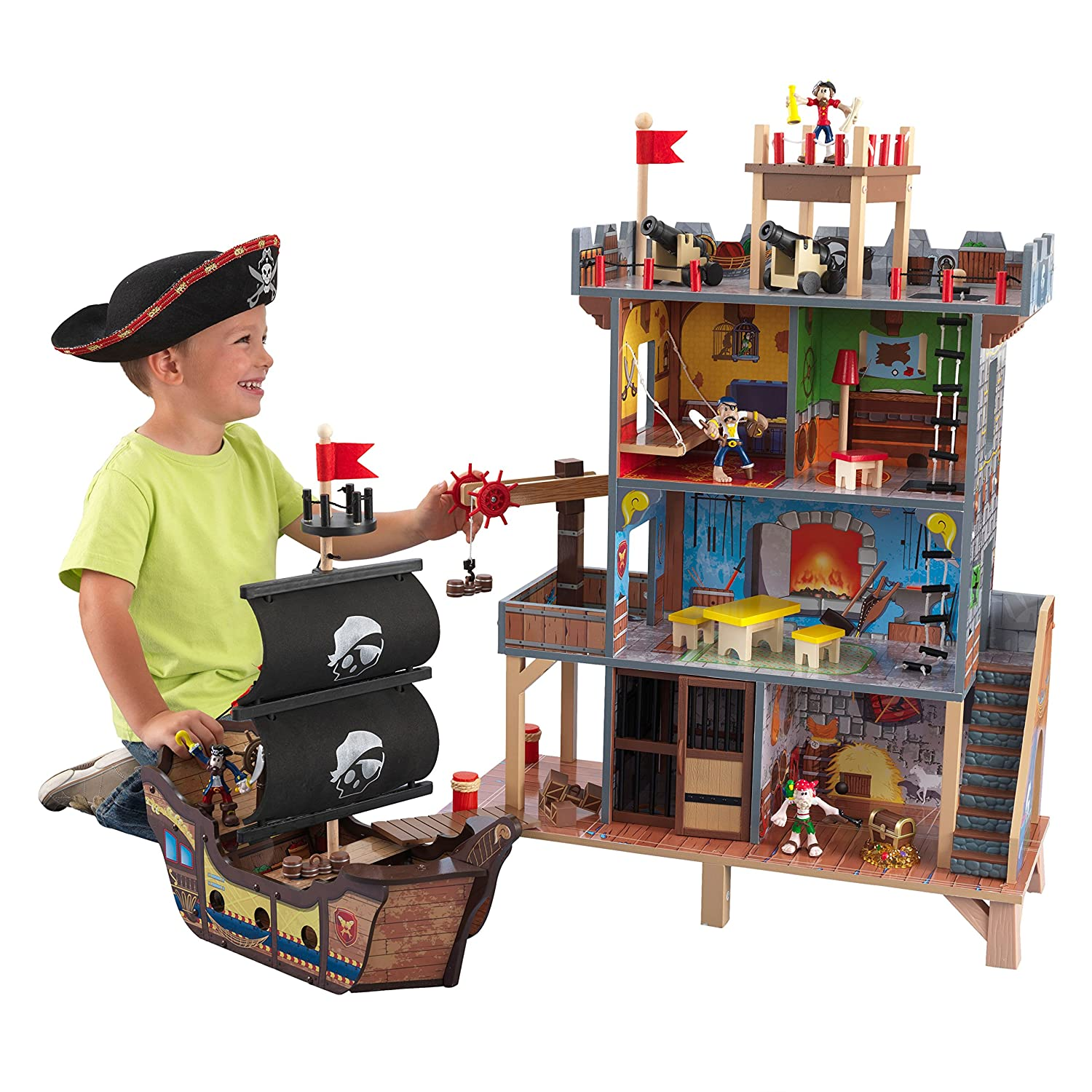 Kidkraft 63284 Pirates Cove Play Set Toy Brown Pack Of The 2015 Christmas List Best Stem Toys For Your Little Nerds And 3 Games