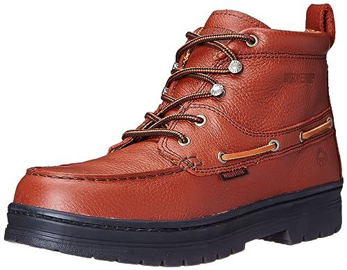 147d773e446 Wolverine Men's Moc Toe Steel-Toe EH Chukka Boot
