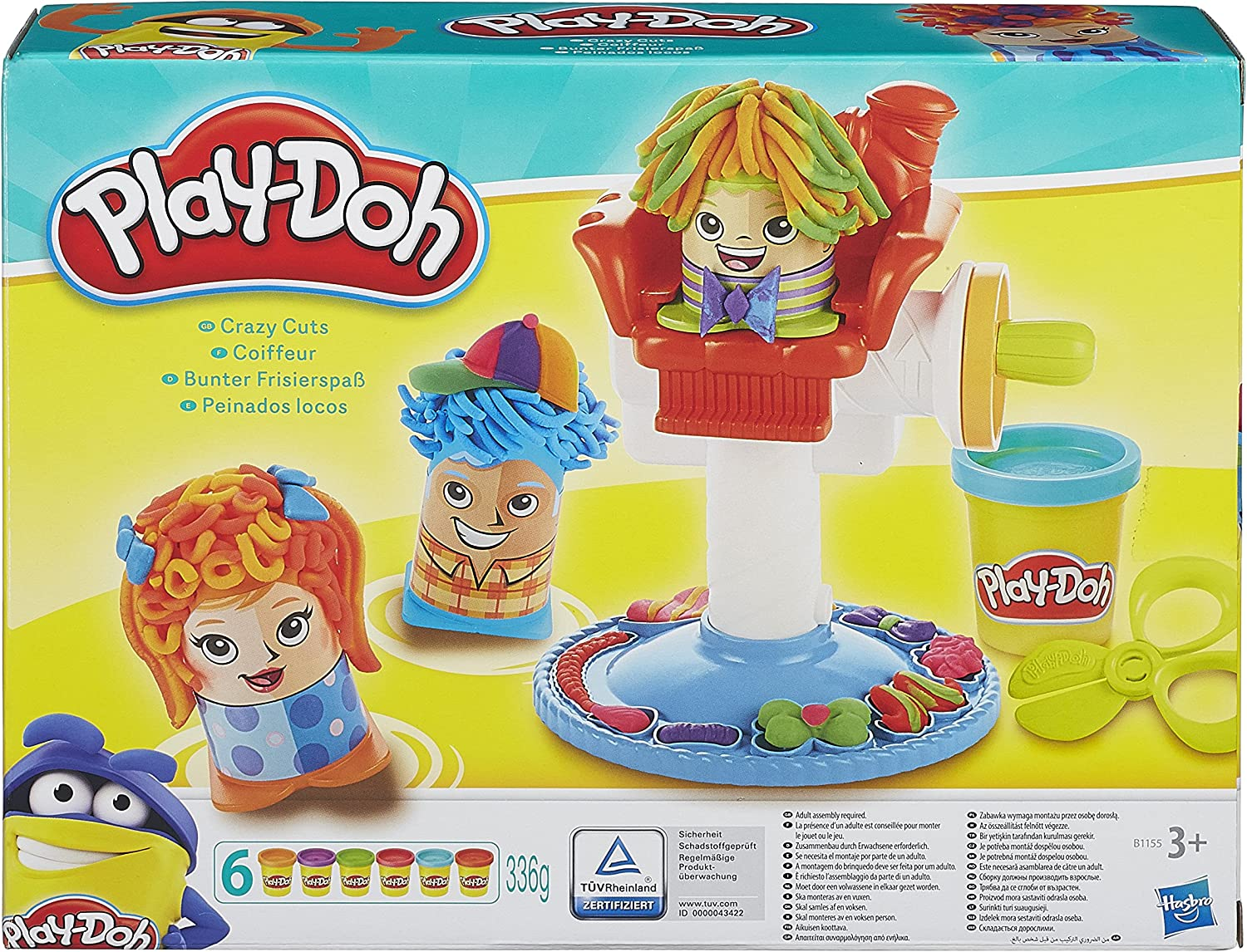 Play-Doh Crazy Cuts Retro Pack: Amazon.co.uk: Toys & Games