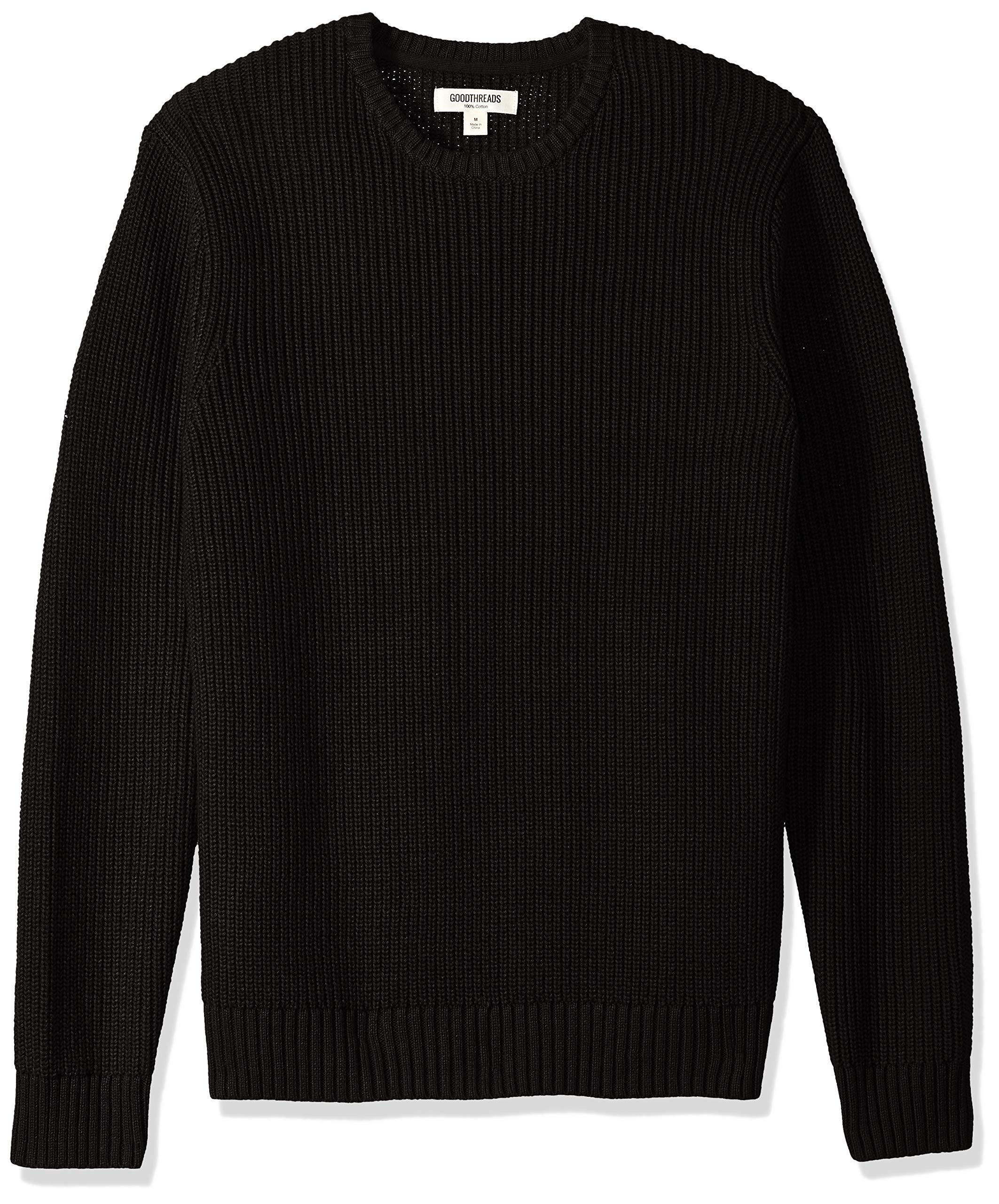 Goodthreads Men s Soft Cotton Rib Stitch Crewneck Sweater product image 7a6b44fb0