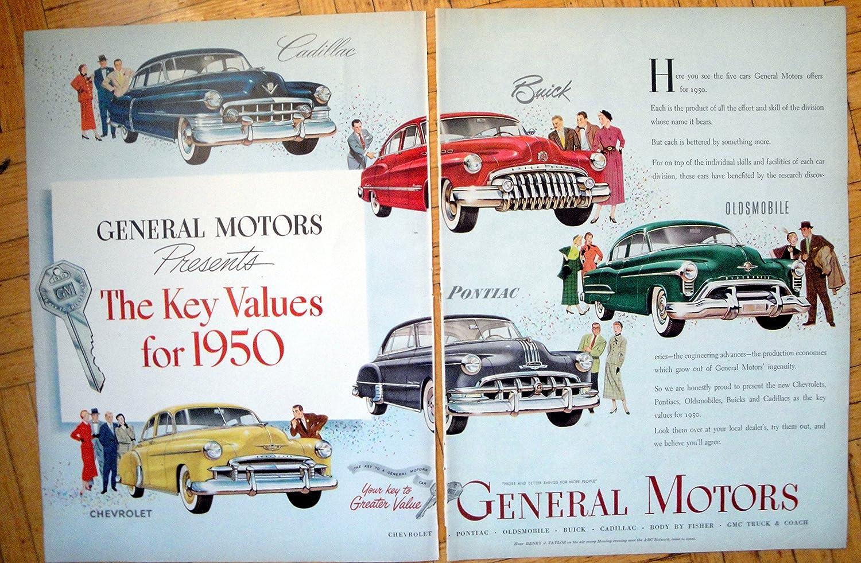 Amazon Com 1950 General Motors Autos For Year Chevrolet Cadillac