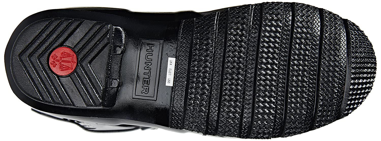 Hunter Rain Women's Original Short Gloss Rain Hunter Boots B00K1WC5DW 5 B(M) US|Black 016a63
