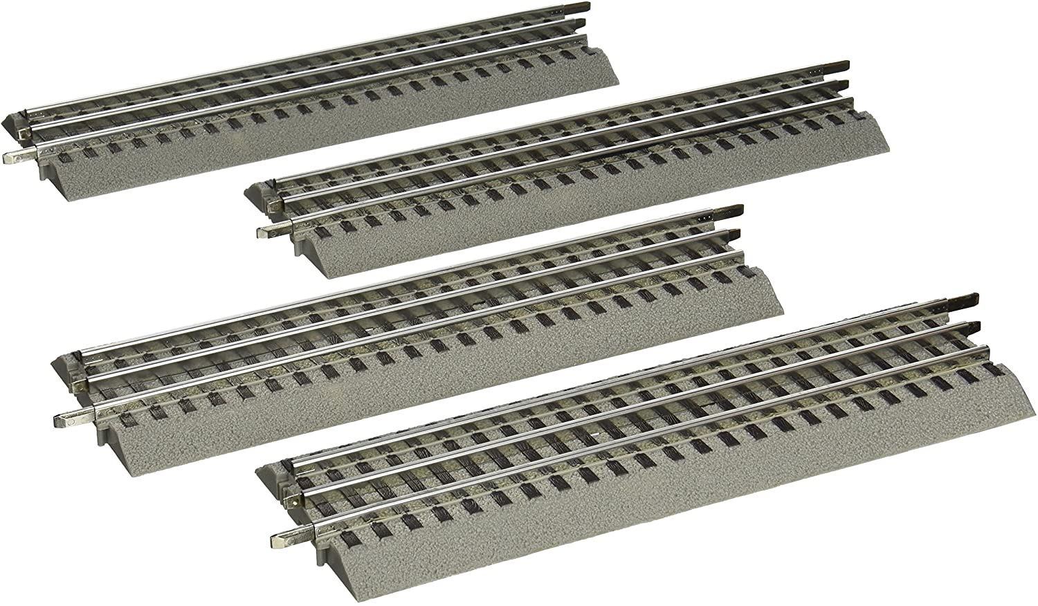 """Lionel FASTRACK 10/"""" STRAIGHT TRACK Section #612014 O Gauge"""