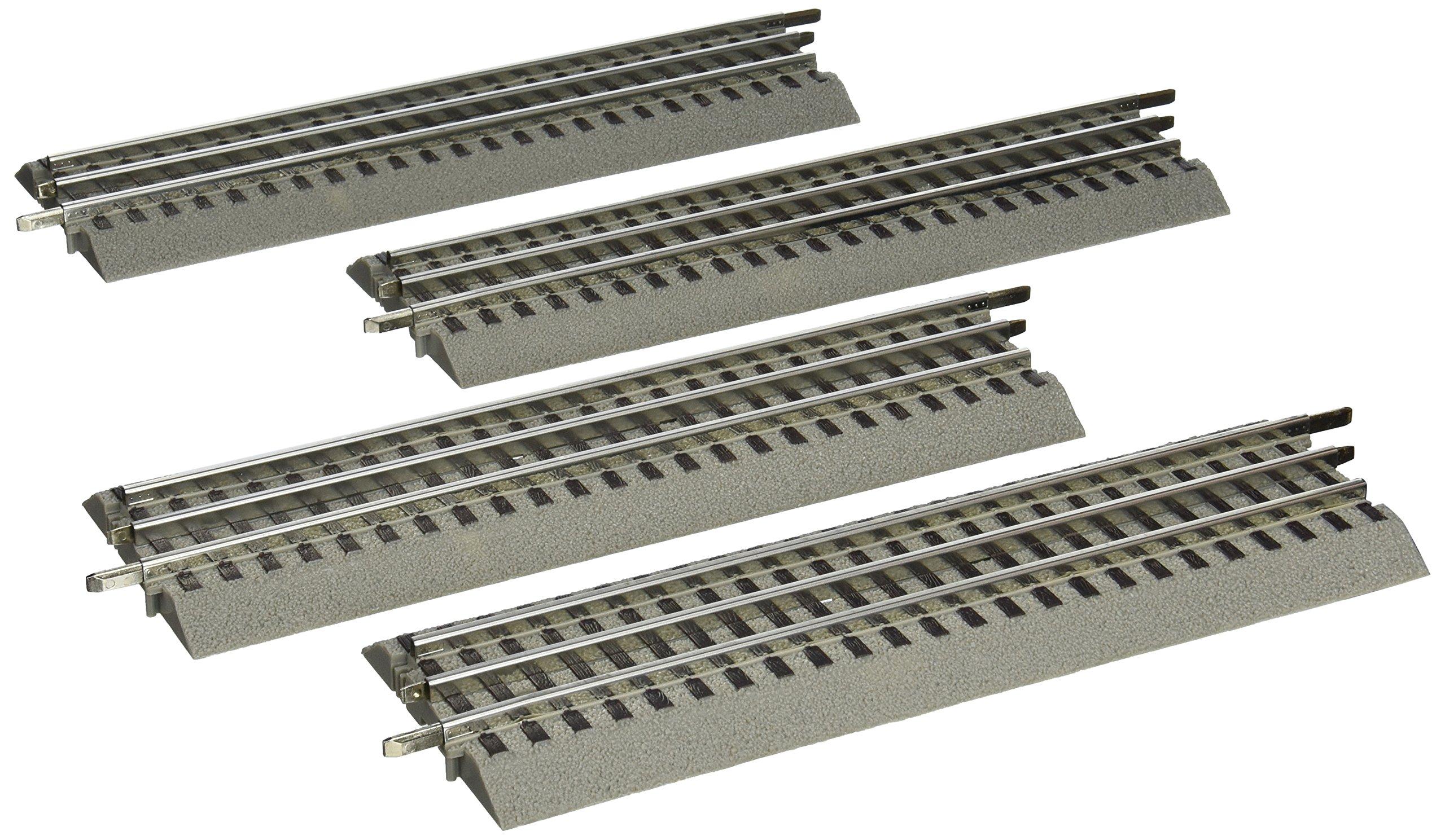 Lionel FasTrack - O-Gauge Straight Track - 4 Pack