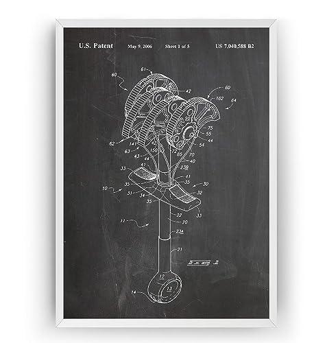 Leva de Escalada 2006 Poster de Patente - Patent Póster Con ...