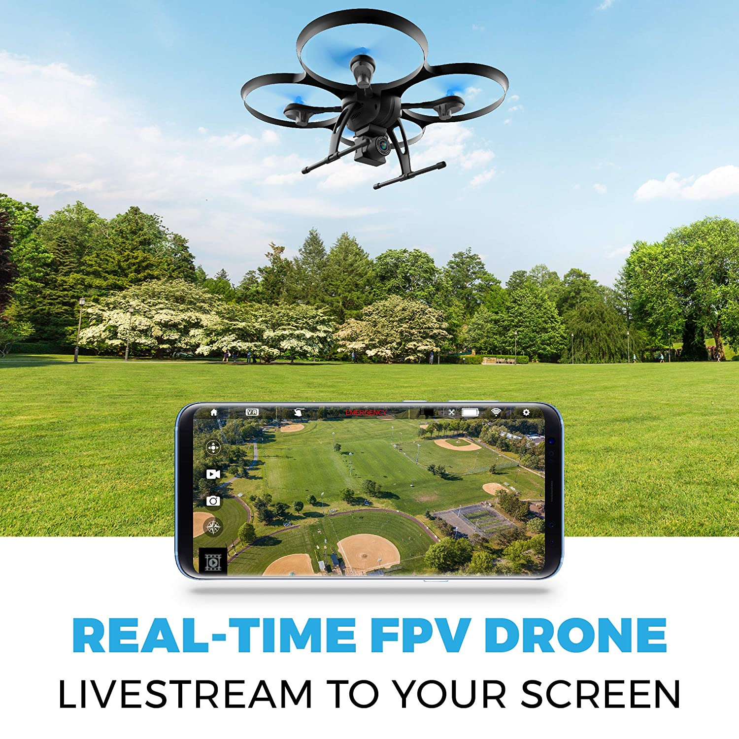 Force1 Drones with Camera for Adults