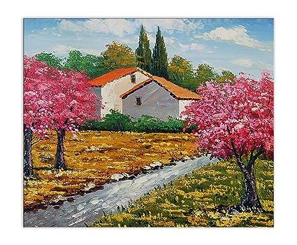 Arte dal Mondo World Art, TWPI166EAT-01, Casolare di campagna ...