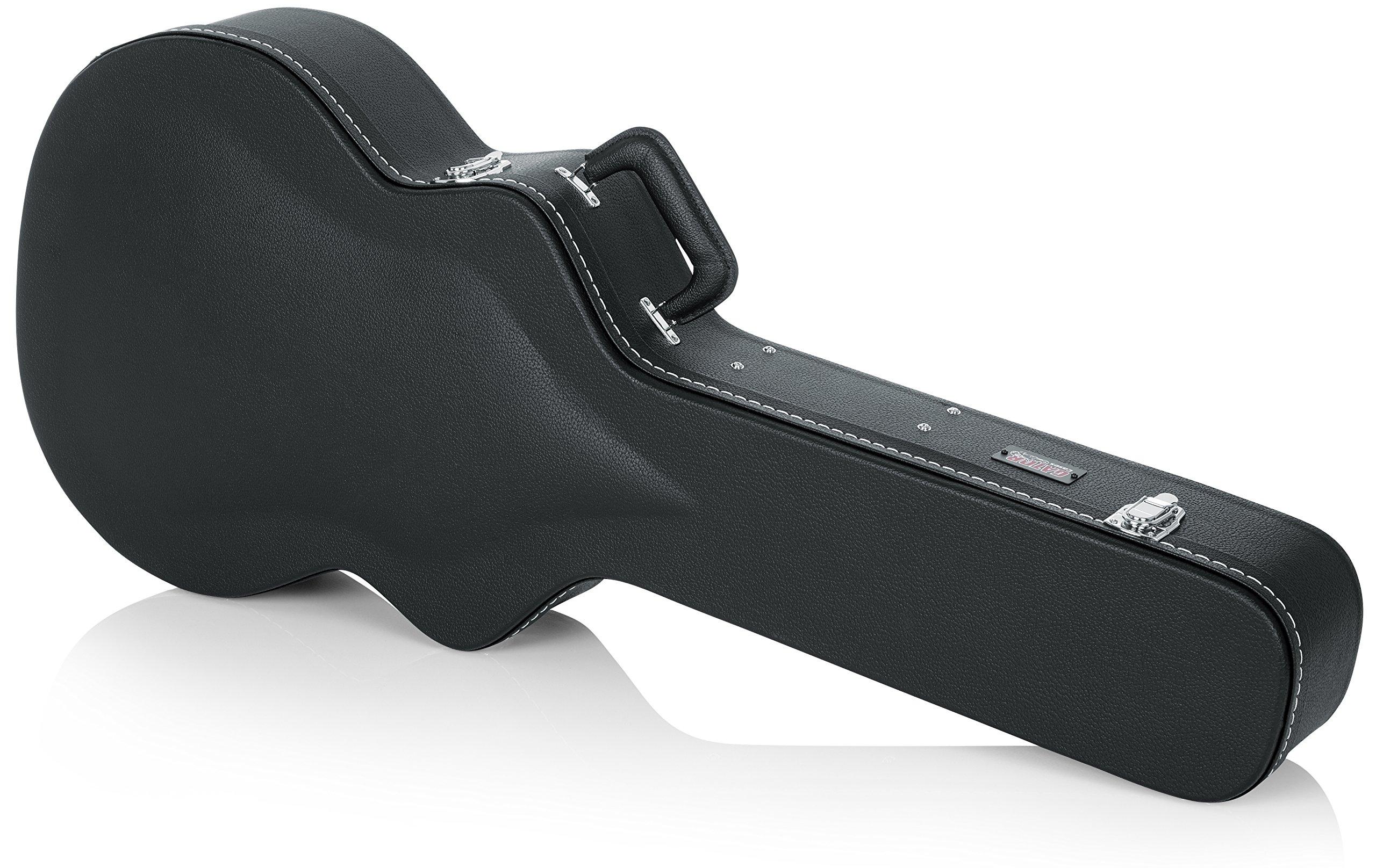 Gator Cases Deluxe Wood Case for Jumbo Acoustic Guitars (GW-JUMBO)