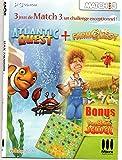 Jeu PC 3 jeux de Match 3 Atlantic Quest - Farm Quest - BumbleBee Jewel
