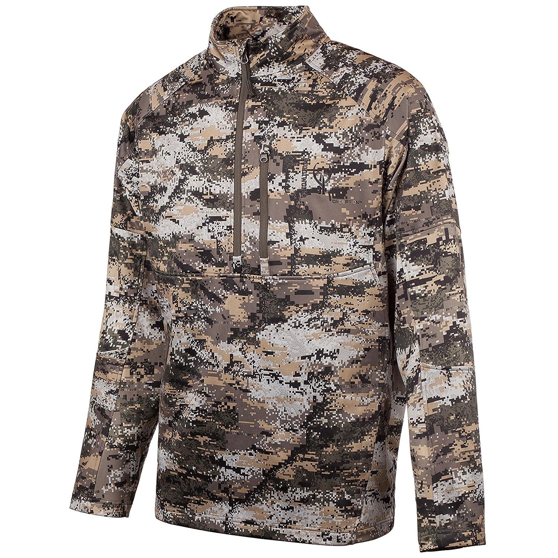 HUNTWORTH Herren Jagd Soft Shell Hybrid Pullover, Herren, Hunting Pullover/Soft Shell Hybrid Pullover