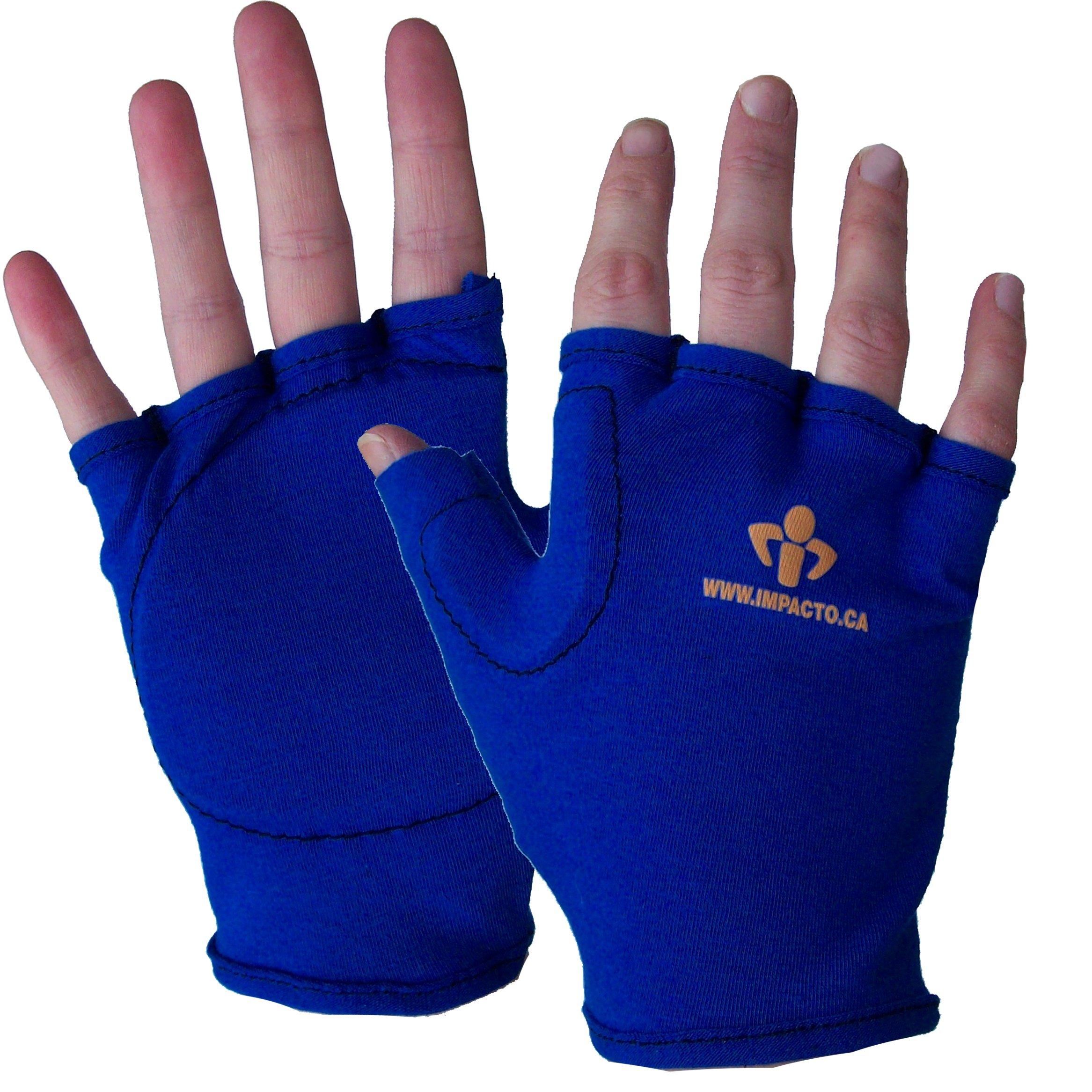 Impacto 50200120050 Anti-Impact Liner Glove, Blue by Impacto