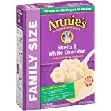 Annie's Family Size Shells & White Cheddar Macaroni & Cheese, 10.5oz Box