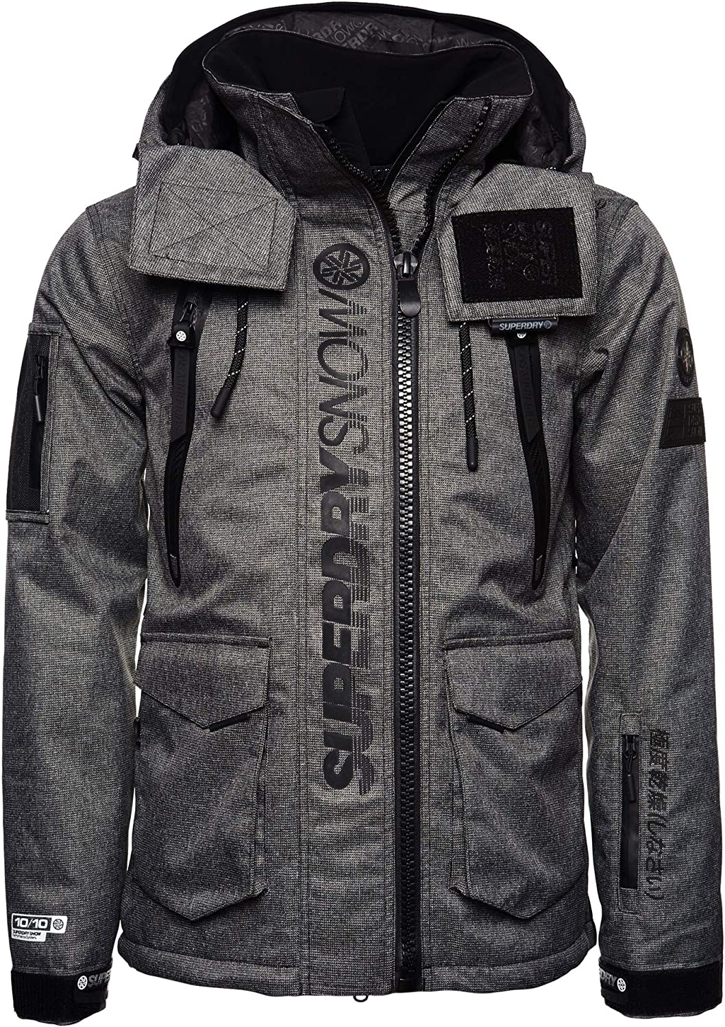 Superdry Ultimate Snow Rescue Black Tex Rock S Amazon Ca Clothing Accessories