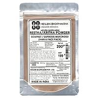 Heilen Biopharm Reetha/Aritha /Soap Nut Powder (75g / 2.65Oz / 0.17lb)