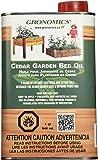 Gronomics GBO1Q Cedar Garden Bed Oil, 1-Quart