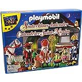com: Playmobil 5206 Sinterklaas En Zwarte Piet Stoomboot: Toys & Games
