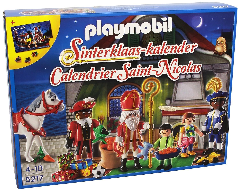 Playmobil 5217 SINTERKLAAS ADVIENTO KALENDER CALENDARIO Zwarte Piet SINT Playmobil Iberica SAU