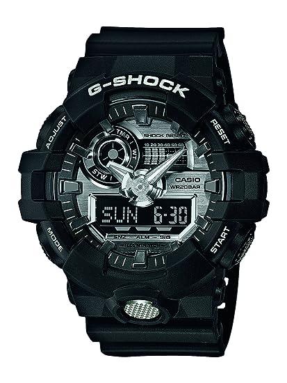 Casio Reloj Analogico-Digital para Hombre de Cuarzo con Correa en Resina GA-710-1AER: Amazon.es: Relojes