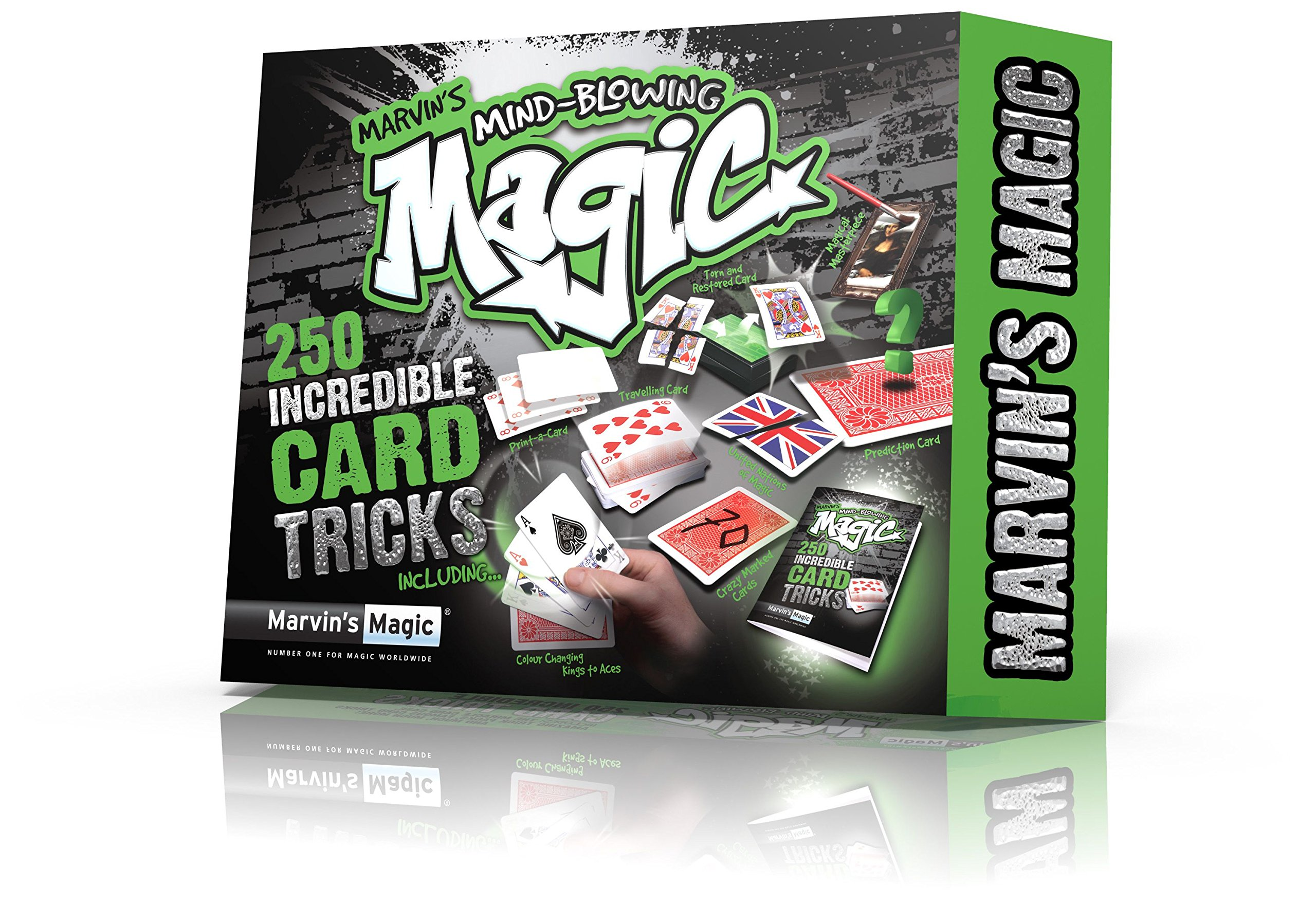 Marvin's Magic Mind Blowing Card Tricks by Marvin's Magic