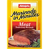 Adolph's Marinade In Minutes Meat Marinade, Meat Tenderizer Marinade, 1 oz (Case of 24)